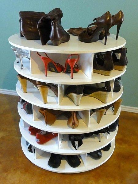 Фотография: Кухня и столовая в стиле Скандинавский, Прихожая, Советы, хранение обуви, идеи хранения обуви – фото на InMyRoom.ru