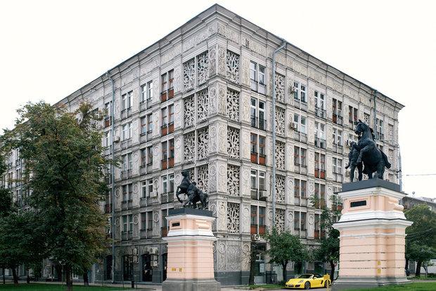 Фотография: Архитектура в стиле , Москва, Гид – фото на InMyRoom.ru