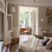 Фотография: Спальня в стиле , Эклектика, Декор интерьера, Квартира, Дом, Праздник, Дома и квартиры – фото на InMyRoom.ru