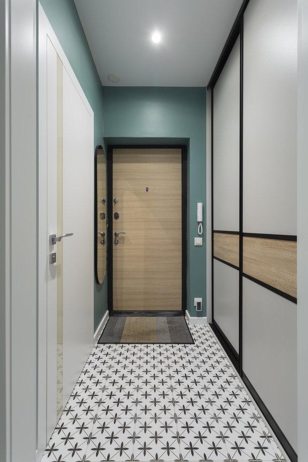 Фото из портфолио Фото однокомнатной квартиры – фотографии дизайна интерьеров на INMYROOM