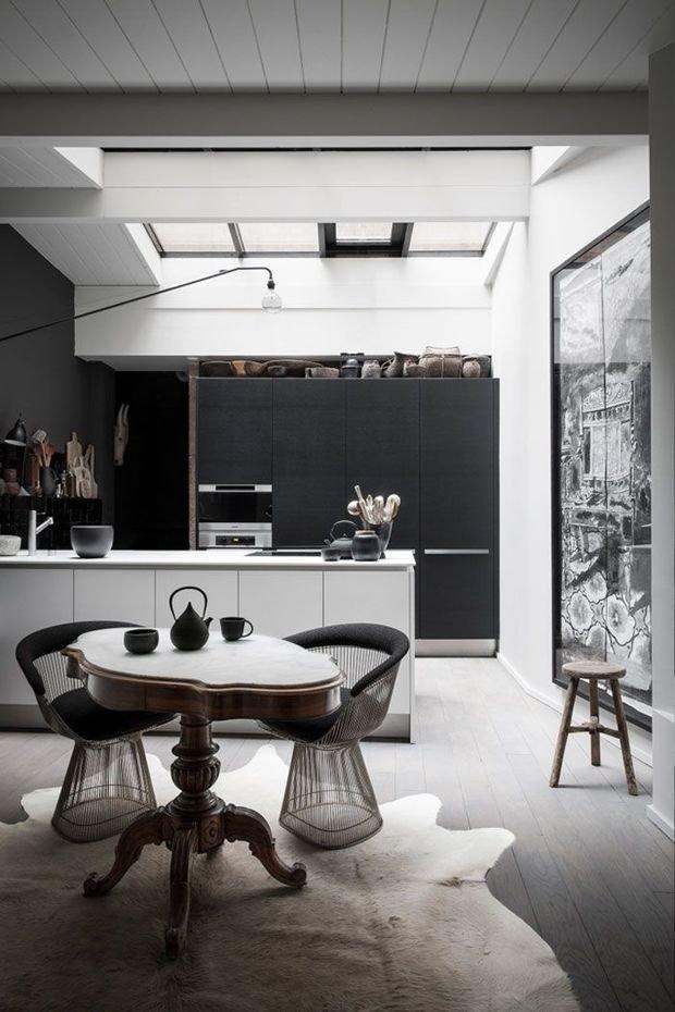 Фотография: Кухня и столовая в стиле Лофт, Декор интерьера, Дизайн интерьера, Цвет в интерьере – фото на InMyRoom.ru