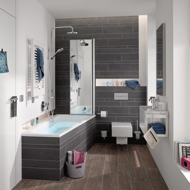 Фотография: Ванная в стиле Современный, Советы, Сантехника – фото на InMyRoom.ru