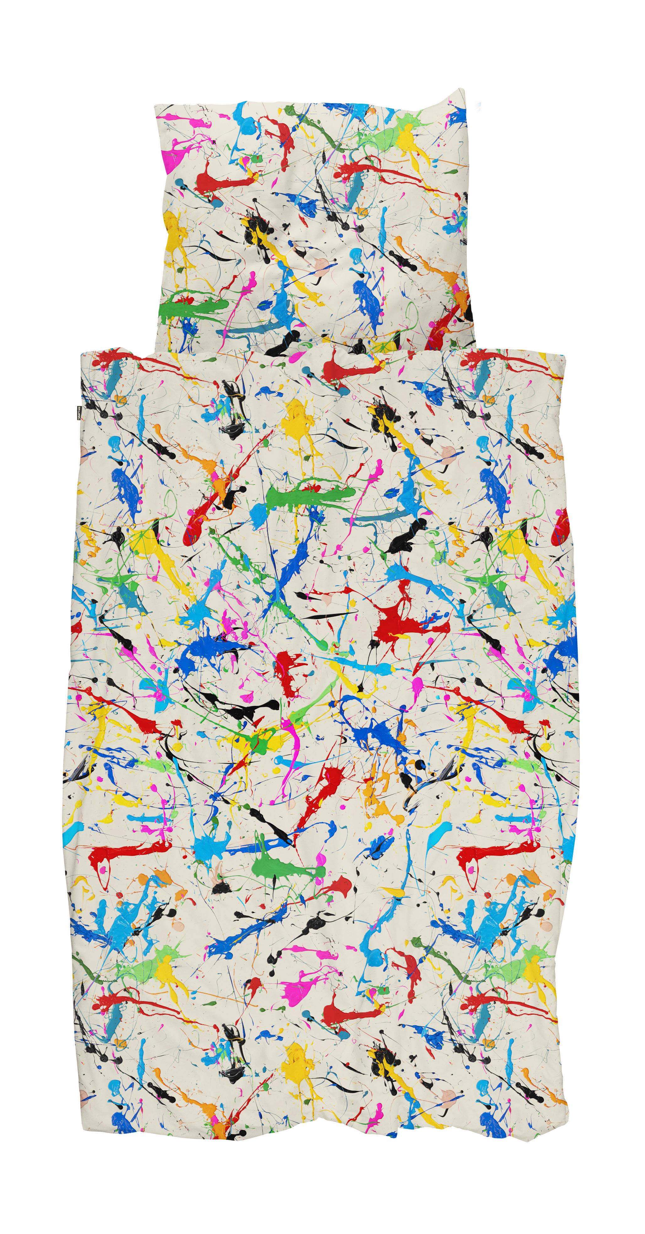 Купить Комплект постельного белья брызги белый 150х200, inmyroom, Нидерланды