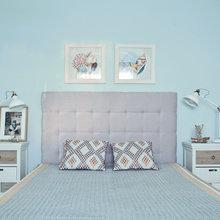 Фотография: Спальня в стиле Современный, Кантри, Декор интерьера, Дом, Проект недели – фото на InMyRoom.ru