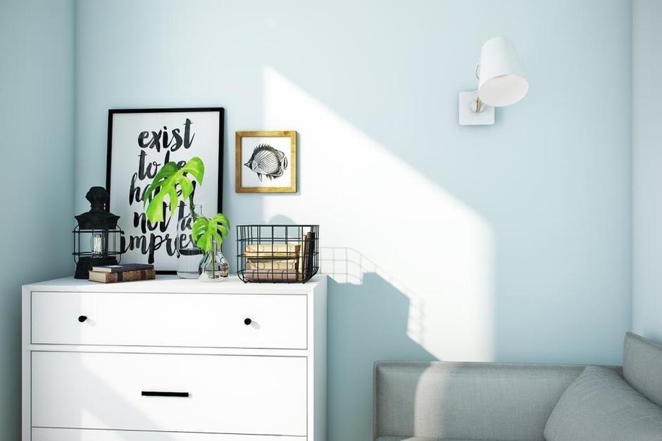 Фотография: Декор в стиле Современный, Квартира, Проект недели, Москва, Монолитный дом, 3 комнаты, 60-90 метров, Алена Чекалина – фото на InMyRoom.ru