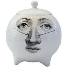 Декоративная ваза с крышкой Scent Sphere Face