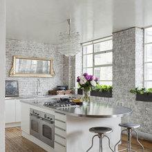 Фотография: Кухня и столовая в стиле Эклектика, Квартира, Дома и квартиры, Лондон – фото на InMyRoom.ru