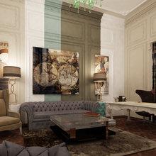 Фотография: Гостиная в стиле Эклектика – фото на InMyRoom.ru