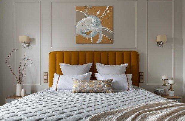 Фотография: Спальня в стиле Современный, Квартира, Проект недели, Москва, 60-90 метров, Ирина Чернышева – фото на INMYROOM