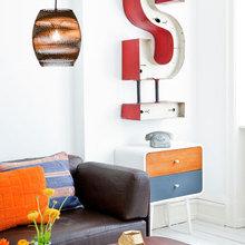 Фото из портфолио Цветной скандинавский – фотографии дизайна интерьеров на InMyRoom.ru