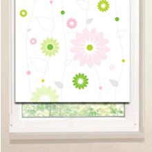 Рулонные шторы: Цветочные бусы