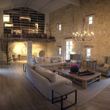 Фотография: Гостиная в стиле Кантри, Дом, Франция, Дома и квартиры, Прованс – фото на InMyRoom.ru