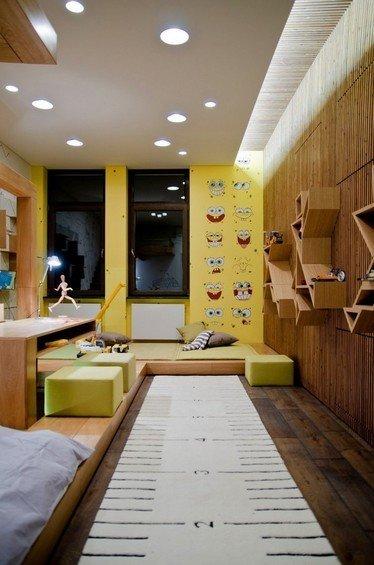Фотография: Детская в стиле Современный, Эко, Квартира, Мебель и свет, Дома и квартиры, Пентхаус, Киев – фото на INMYROOM