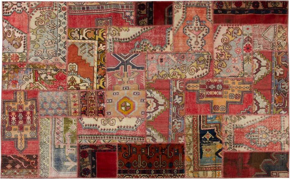 Купить Винтажный ковер Patchwork 298x197, inmyroom, Турция