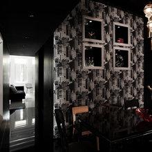 Фотография: Кухня и столовая в стиле Современный, Восточный, Дом, Цвет в интерьере, Дома и квартиры, Белый – фото на InMyRoom.ru