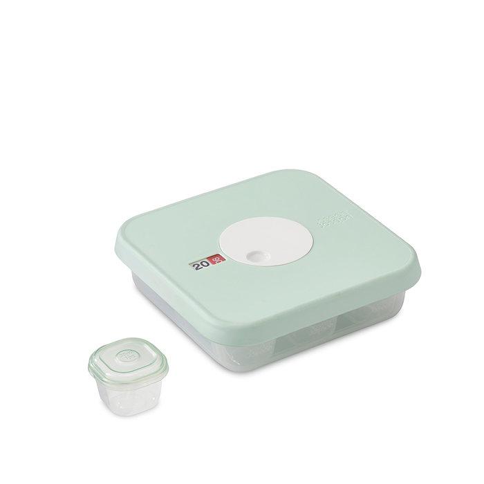 Набор из 10 контейнеров для детского питания с датируемой крышкой Joseph Joseph dial baby (ступень 1)