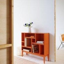 Фотография: Мебель и свет в стиле Скандинавский, Современный, Декор интерьера, Дизайн интерьера, Цвет в интерьере, Оранжевый – фото на InMyRoom.ru