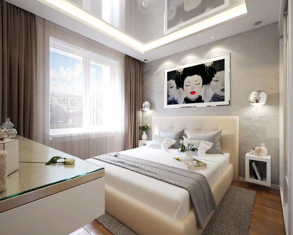 Фотография: Спальня в стиле Современный, Квартира, Дома и квартиры, IKEA, Проект недели, Москва – фото на InMyRoom.ru