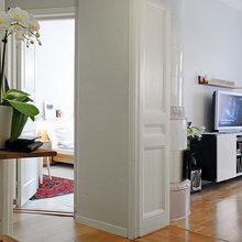 Фотография:  в стиле Скандинавский, Современный, Малогабаритная квартира, Квартира, Швеция, Мебель и свет, Дома и квартиры, Гетеборг – фото на InMyRoom.ru