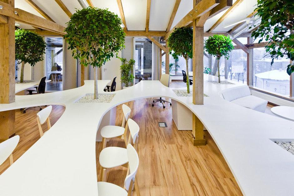 Фотография: Прочее в стиле Современный, Декор интерьера, Офисное пространство, Офис, Цвет в интерьере, Дома и квартиры, Стены – фото на InMyRoom.ru