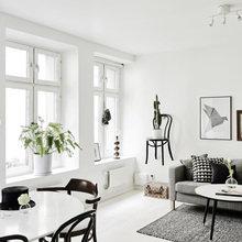 Фото из портфолио Традиционный скандинавский стиль в 2-уровневой квартире – фотографии дизайна интерьеров на INMYROOM