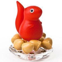 Канцелярские иголки squirrel красные