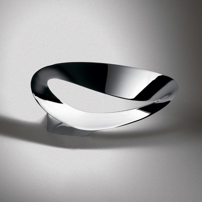 Купить Настенный светильник Artemide Mesmeri Halo Polished Chrome, inmyroom, Италия