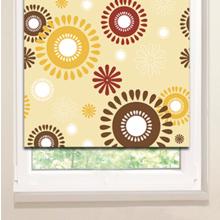 Рулонные шторы: Цветочное солнышко