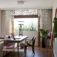Фотография: Гостиная в стиле Современный, Эко, Эклектика, Квартира, Дома и квартиры, Бразилия – фото на InMyRoom.ru