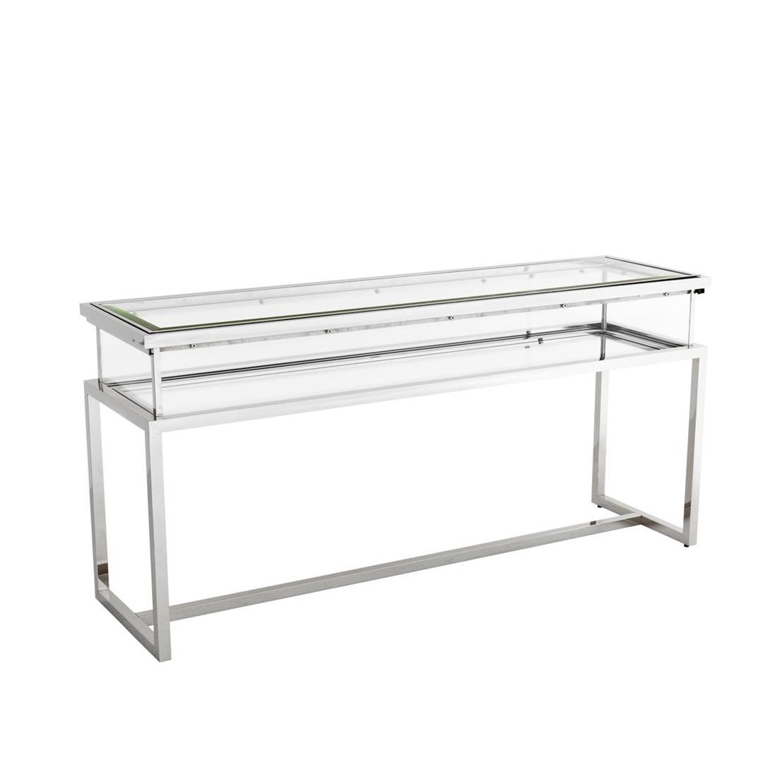 Купить Консоль Janssen из хромированного металла и стекла, inmyroom, Китай