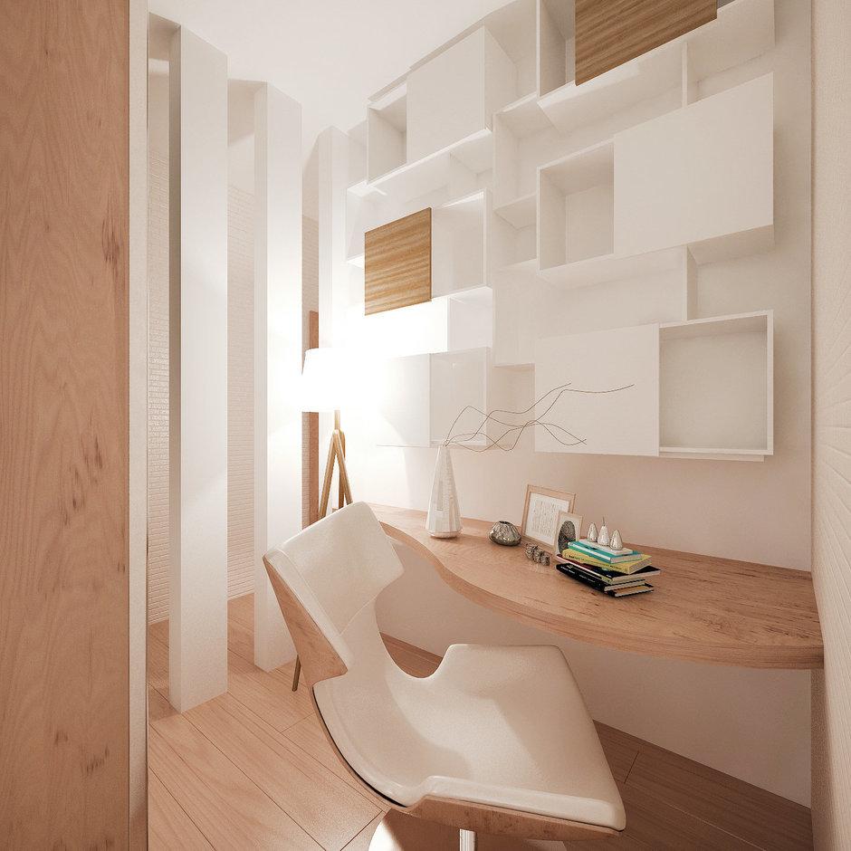 Фотография: Мебель и свет в стиле Современный, Квартира, Дома и квартиры, Проект недели, Мансарда – фото на InMyRoom.ru