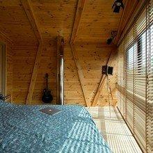 Фотография: Спальня в стиле Кантри, Дом, Терраса, Дома и квартиры, Минимализм, Киев – фото на InMyRoom.ru