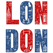 Картина (репродукция, постер): Homesick for London - Майкл Кек