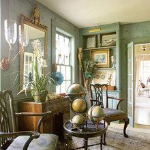 Фотография: Гостиная в стиле , Классический, Дизайн интерьера – фото на InMyRoom.ru