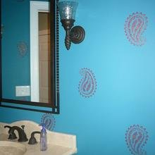 Фотография: Ванная в стиле Кантри, Современный, Восточный, Декор интерьера, Декор дома, Ковер – фото на InMyRoom.ru