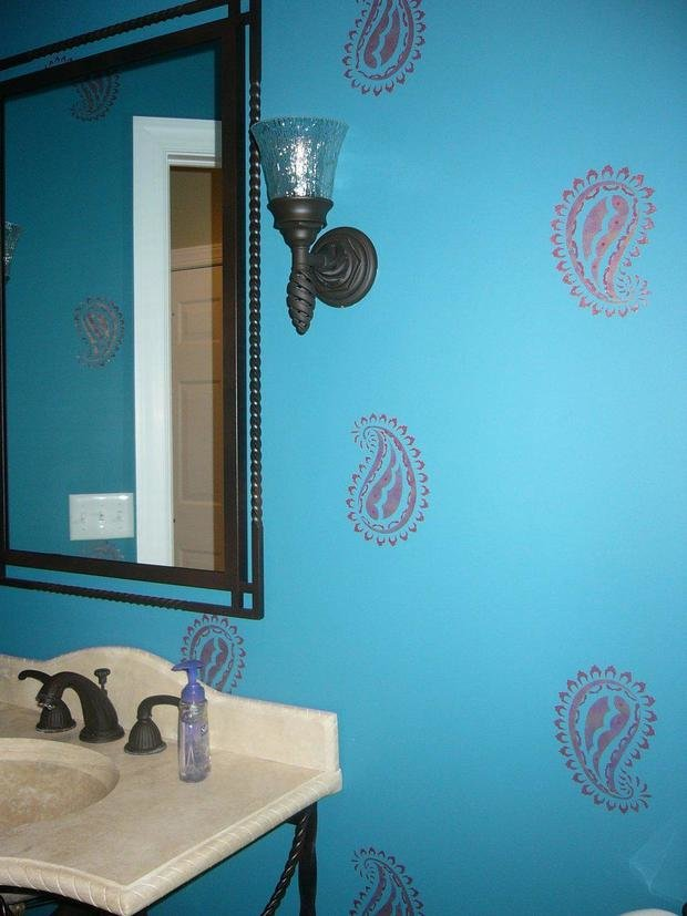 Фотография: Ванная в стиле Прованс и Кантри, Современный, Восточный, Декор интерьера, Декор дома, Ковер – фото на InMyRoom.ru