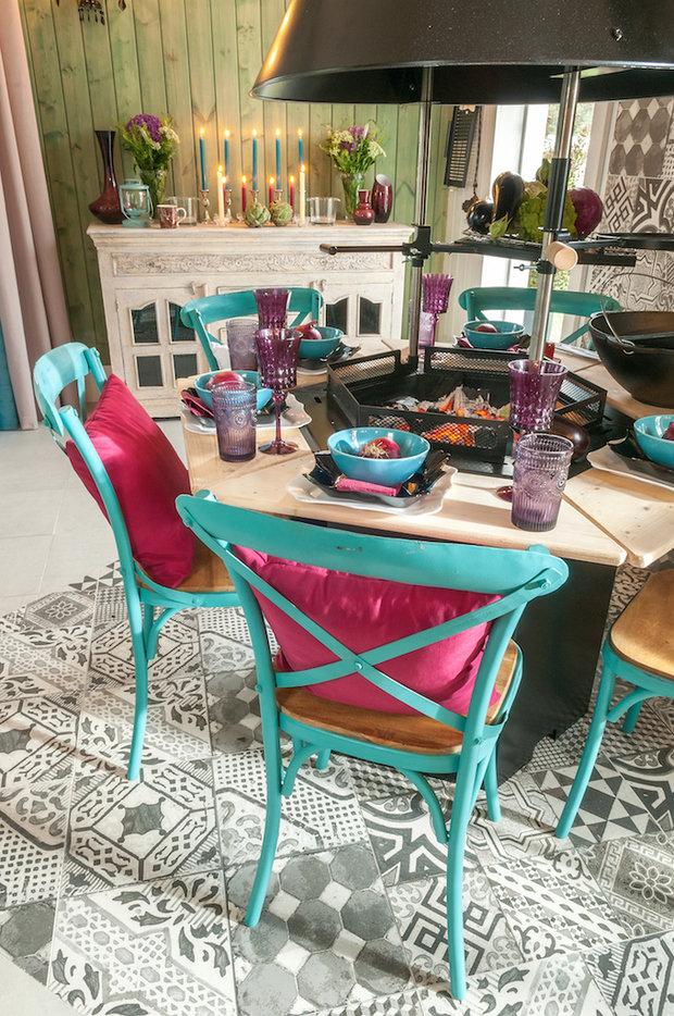 Фотография: Кухня и столовая в стиле Прованс и Кантри, Дом, Дома и квартиры, dom-iz-brusa – фото на InMyRoom.ru