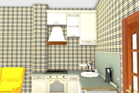 Помогите с цветовыми акцентами в квартире-студии