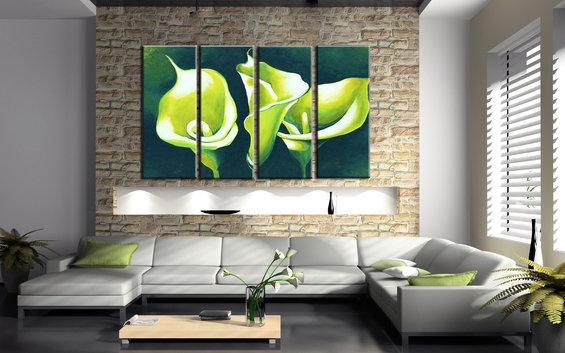 Фотография: Гостиная в стиле Лофт, Современный, Декор интерьера, Декор дома, Картины – фото на InMyRoom.ru