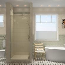 """Фото из портфолио """"Ванная со вкусом"""" – фотографии дизайна интерьеров на INMYROOM"""