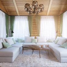 Фото из портфолио Дизайн-проект гостиной в загородном доме на Новой Риге – фотографии дизайна интерьеров на INMYROOM