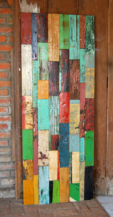 Купить Декоративная панель All From Boats Patchwork 180, inmyroom, Индонезия