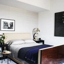 Фотография: Спальня в стиле Современный, Квартира, Дома и квартиры, Интерьеры звезд, Нью-Йорк – фото на InMyRoom.ru