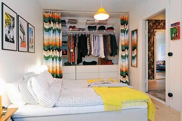 Фотография: Спальня в стиле Скандинавский, Современный, Прочее, Советы, ламинат, хранение – фото на InMyRoom.ru