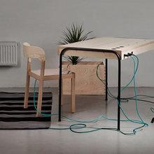 Фото из портфолио Unplugged. Офис, генерирующий энергию – фотографии дизайна интерьеров на InMyRoom.ru