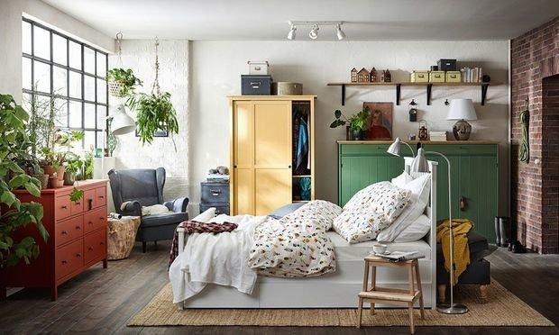 Фотография: Спальня в стиле Скандинавский, Квартира, Советы, ИКЕА – фото на INMYROOM
