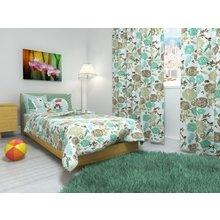 """Покрывало на кровать """"Мятные цветы"""""""
