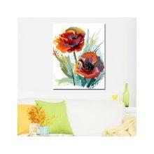 Декоративная картина: Дивные цветы