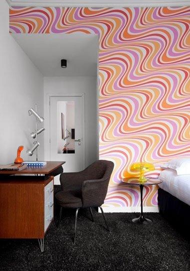 Фотография: Офис в стиле Современный, Индустрия, Новости, Обои, Геометрия в интерьере – фото на InMyRoom.ru