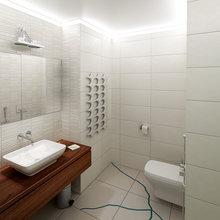 Фото из портфолио Двухкомнатная квартира в жилом доме на Нагатинской набережной в Москве. – фотографии дизайна интерьеров на InMyRoom.ru